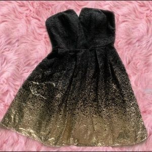 Dresses & Skirts - 💃 Black & Metallic Gold Party Dress